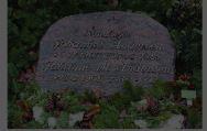 John Jessen Hansen har taget dette foto af Johannes Andersens grav på Hillerød Kirkegård.